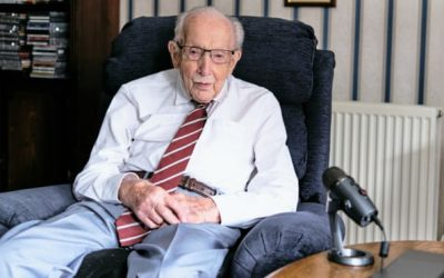 Older people are often lonely – chat with them, urges Capt Tom Moore
