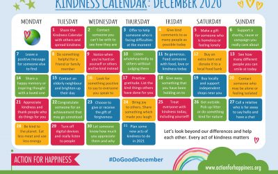 Action for Happiness Kindness Calendar