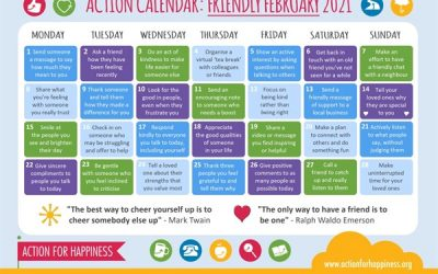 Action for Happiness -Friendly February