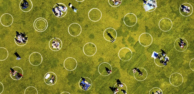 Bursting social bubbles after COVID-19 will make cities happier and healthier again