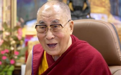 The Dalai Lama says community is the answer to climate change, grief, and the pandemic